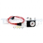 Plastic Single Electric White Gauge